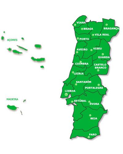 mapa de portugal lousada Sem Químicos ::: Automação mapa de portugal lousada